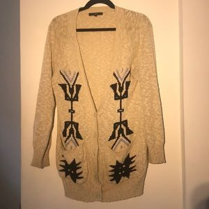 Sanctuary Tribal Light and Long Cardigan